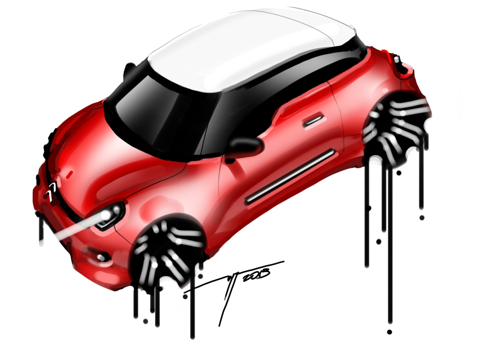 CITROEN quick sketch 2