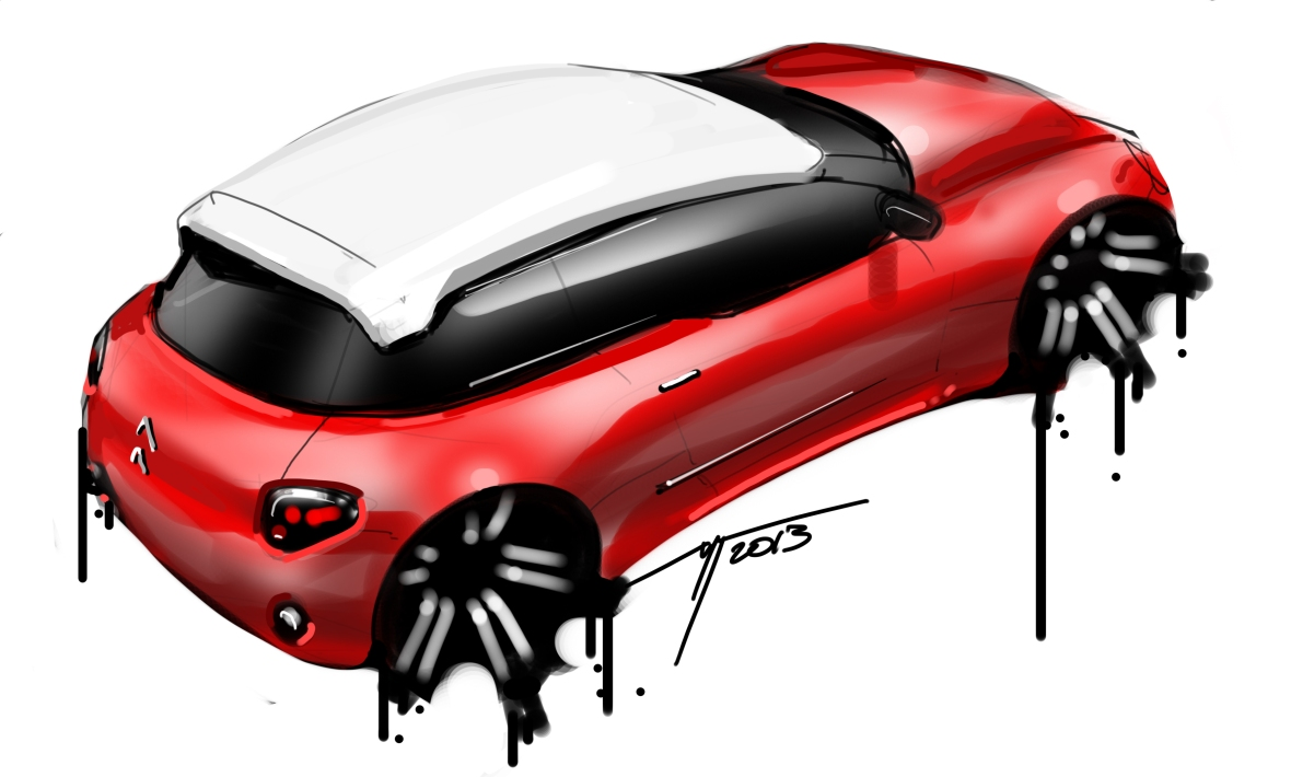 CITROEN quick sketch