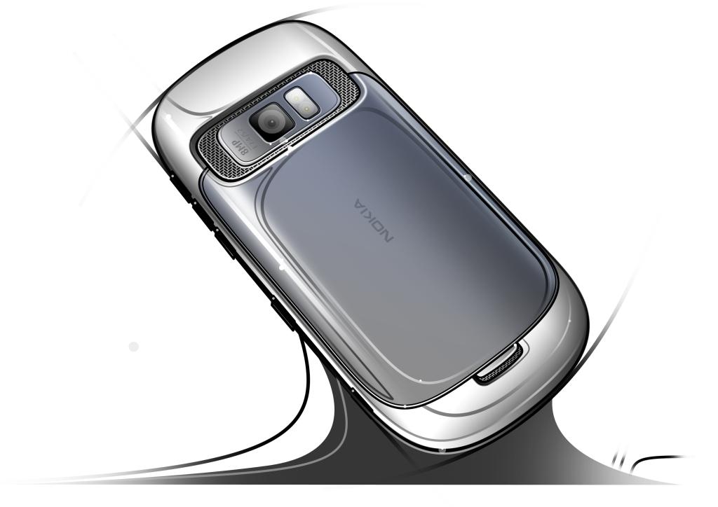 NokiaC7_back sketch