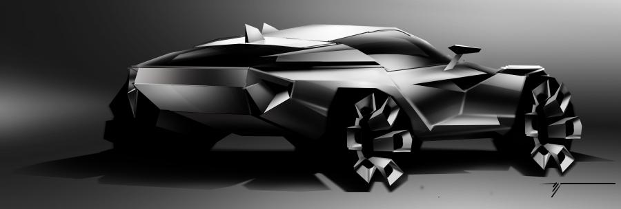 SUV sketch