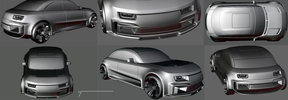 Blender exterior model