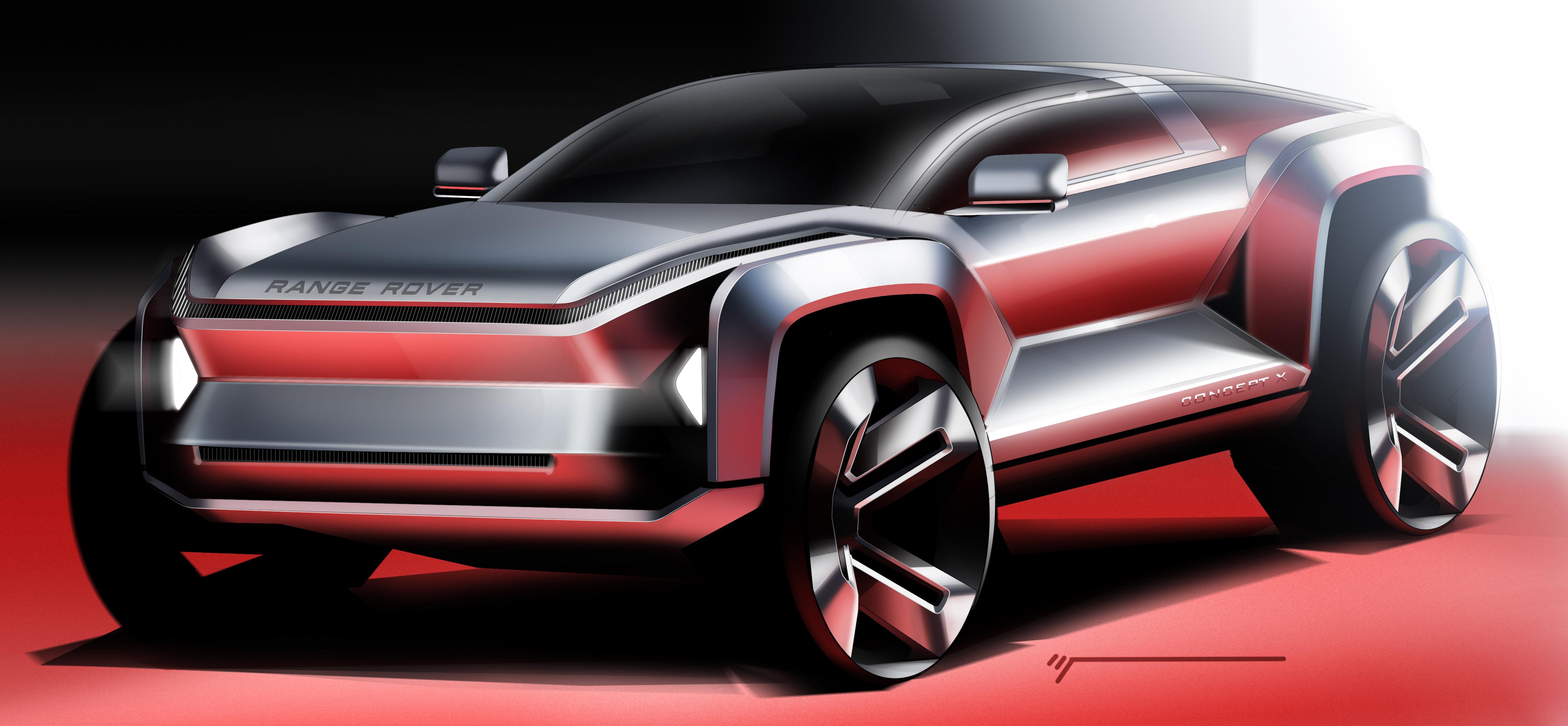 Range Rover Concept X – Tomas Ivaskevicius Design